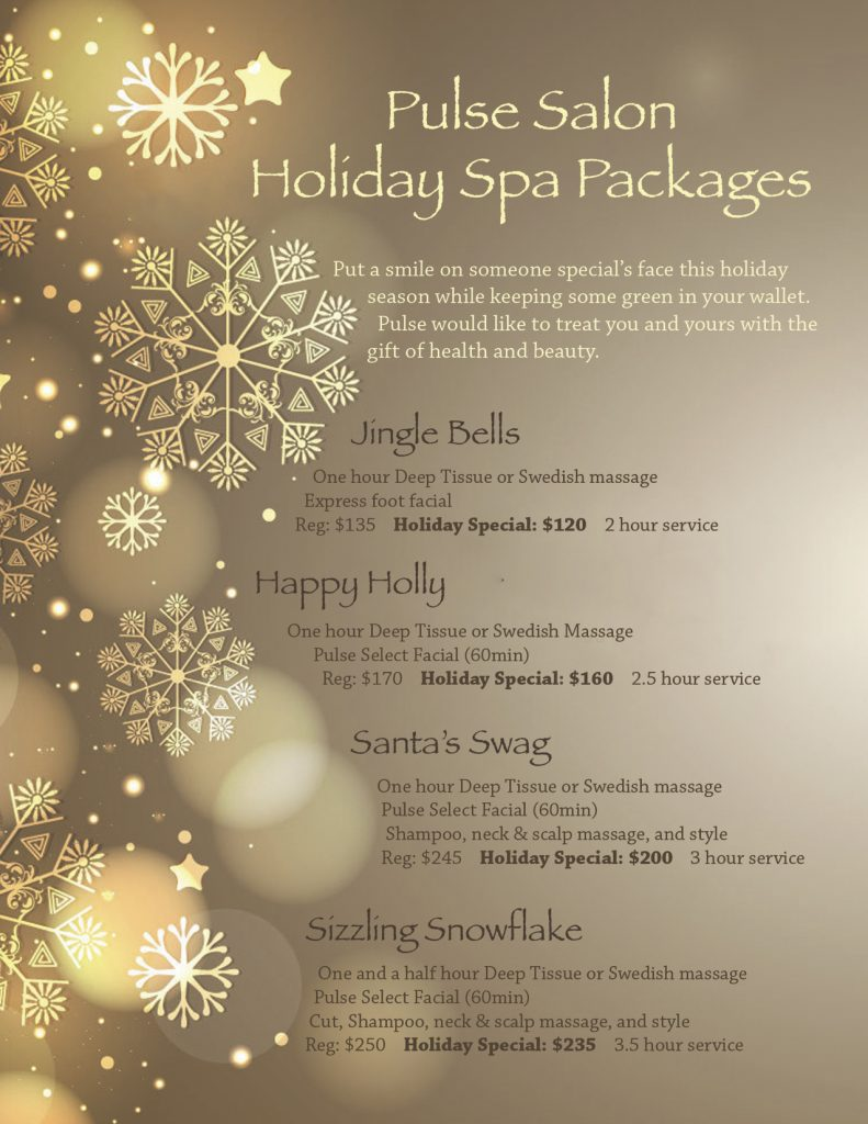 Pulse Salon Holiday Packages